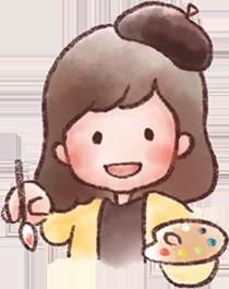 チカのキャラクターイラスト
